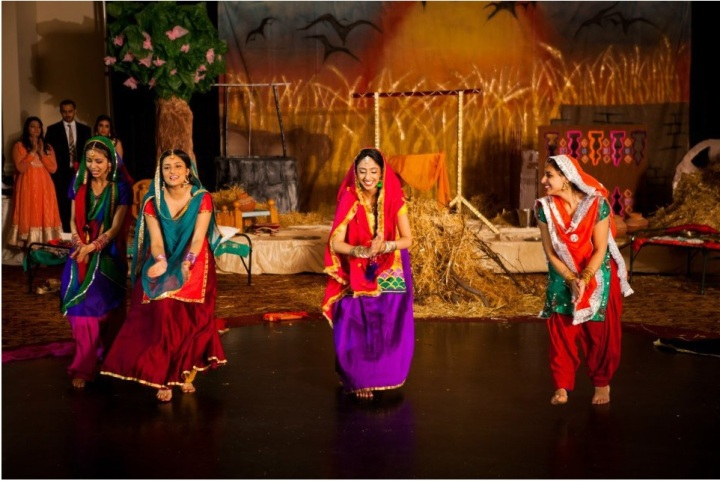 Lohri is a harvest festival celebrated by the Punjabis. Lohri for Her, a grassroots movement recreates a scenic village in Punjab to host its annual event. Photo courtesy Nach Balliye
