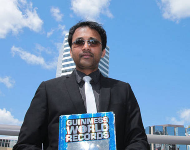Suresh Joachim is Canada's #1 record holder. He has broken 68 world records.