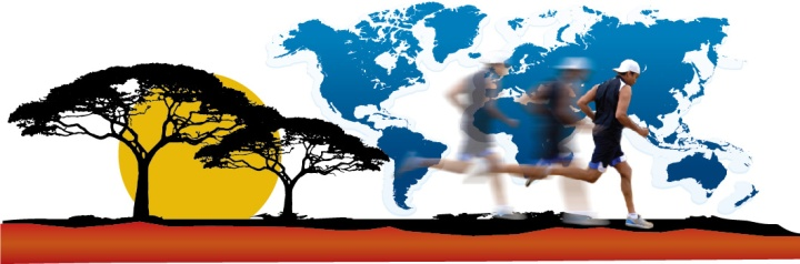 Suresh Joachim, Canada's #1 record holder will be undertaking a World Peace Marathon in 2017. Illustration courtesy Sureshjoachim.com