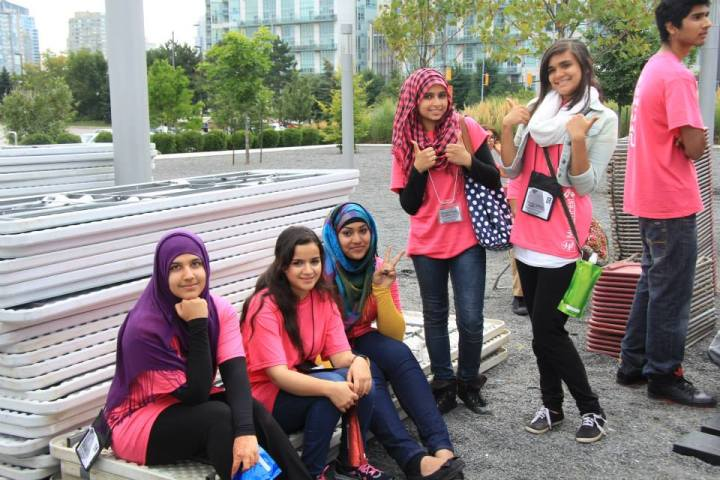 Volunteers of MuslimFest are the backbone of the hugely popular summer festival. This year's event will run Aug. 2-3 at Celebration Square in Mississauga, Ont. Photo courtesy of MuslimFest.