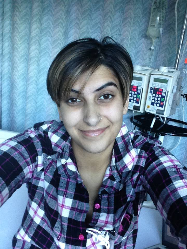 Moneet Mann, 24, started an awareness campaign Will You Marrow Me? after her cancer diagnosis last year. On Saturday, May, 24 Moneet and officials from the Canadian Blood Services' OneMatch Stem Cell and Marrow Network are hosting a swabbing clinic at the Hershey Centre in Mississauga from 1-6 p.m. Supplied photo