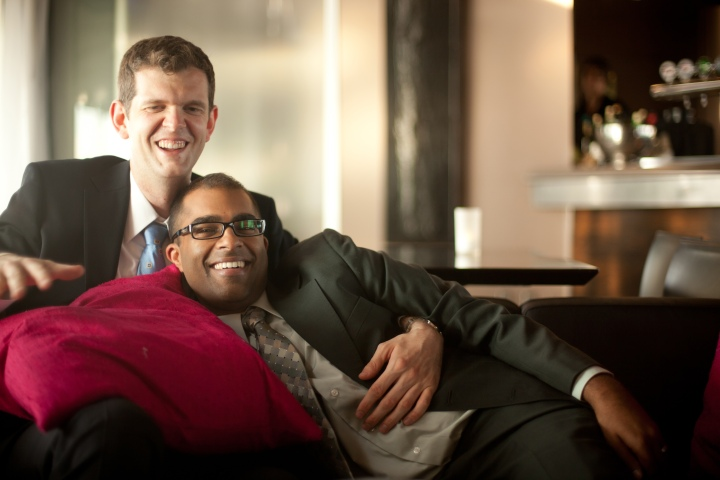In 2011, Dan and Rishi, had a gay Hindu wedding that succeeded in breaking stereotypes. Today, the couple are telling their story in the hopes of creating awareness. Supplied photo