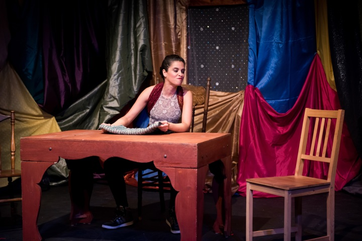 Burq Off! a one-woman show by Brooklyn native Nadia Manzoor who plays 21 different characters will run March 18-21 at Small World Music Centre, 180 Shaw St. Studio 101 in Toronto.