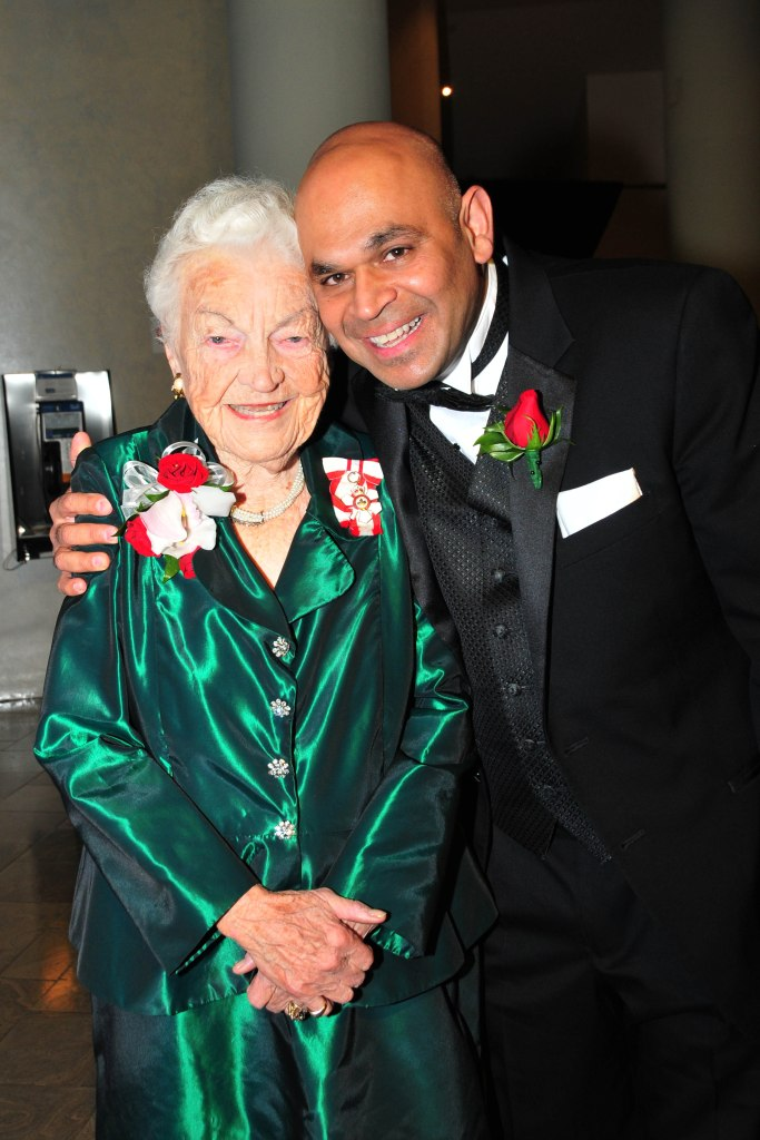 Jake Dheer, senior operations manager, Rogers TV seen here with former Mississauga Mayor Hazel McCallion. Supplied photo.