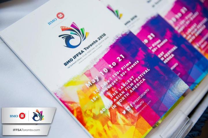 A booklet featuring IFFSA Toronto schedule