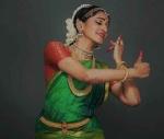 A Bharatnatyam dancer