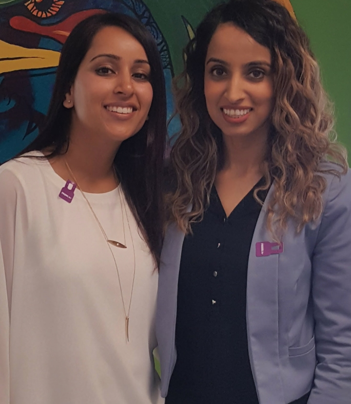 Photo of Jasmeet Chagger and Maneet Chahal, two Brampton nurses who co-founded SOCH, a mental health initiative for South Asians in Toronto.