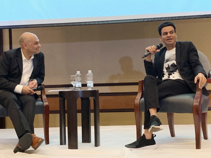 Well-known Hindi film actor Manoj Bajpayee was in Toronto for the 2019 IFFSA-Toronto.